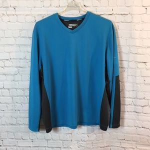 Nike Golf Dry-Fit V neck pullover